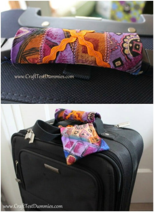 Easy Silk Tie Luggage Tags