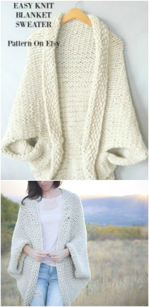 12ea2ee59375 30 Beautiful Women's Sweaters And Tops You Can Knit Or Crochet ...