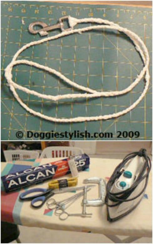 Plastic Bag Dog Leash