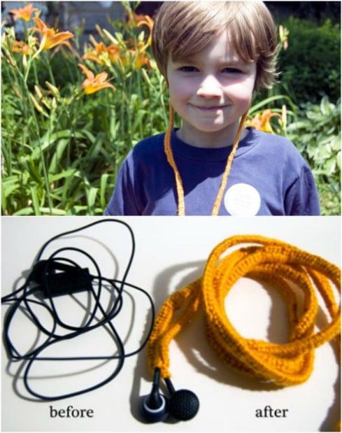 Easy Crochet Ear Bud Covers
