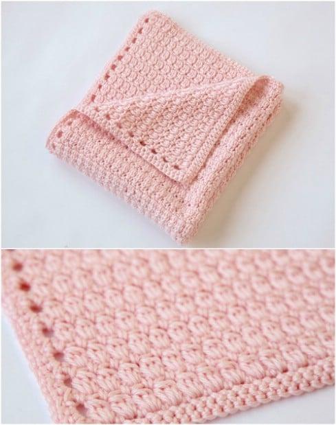 Crochet Baby Blanket – Easiest Blanket Ever!