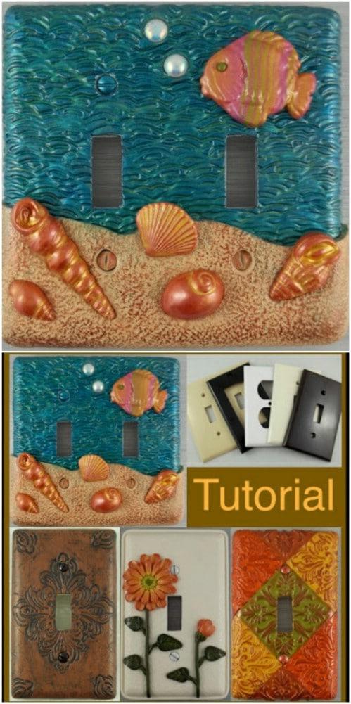 DIY Polymer Clay Art Covers