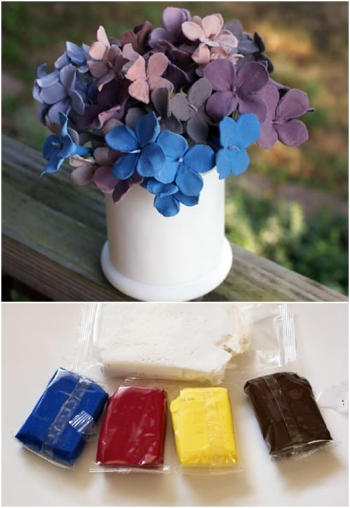 DIY Clay Flowers