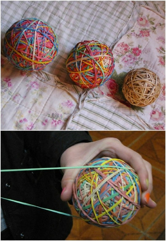 DIY Rubber Band Bouncy Balls