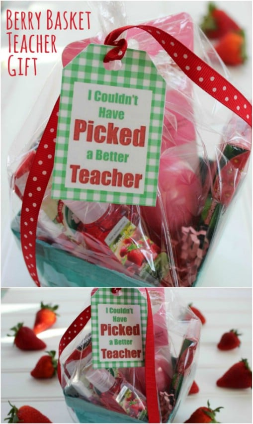 Berry Basket Teacher's Gift