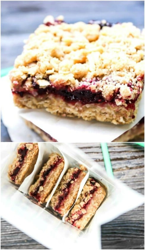 Copycat Starbucks Michigan Cherry Oat Bars