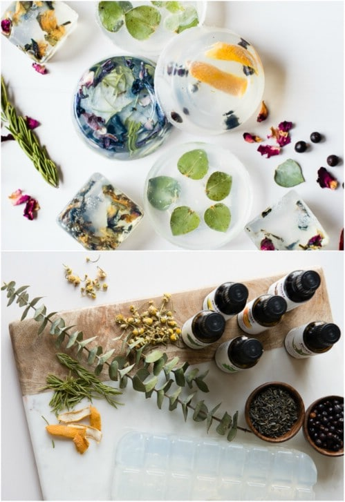 Homemade Holiday Herb And Spice Soap