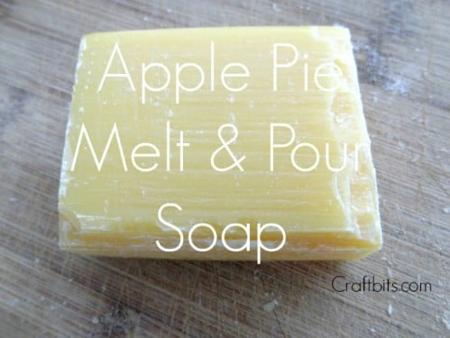 Great Smelling Apple Tart Soap