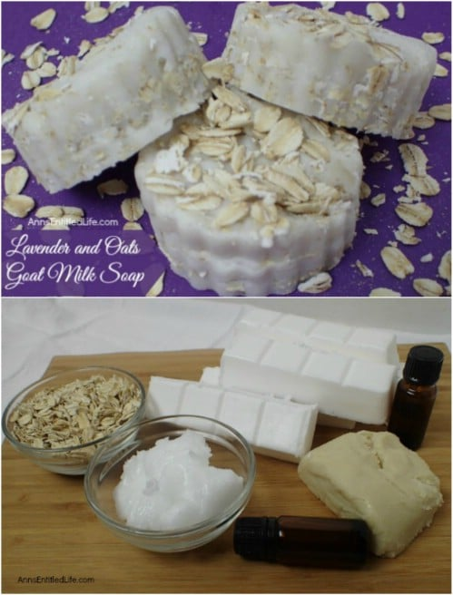 DIY Lavender Soap With Goat's Milk