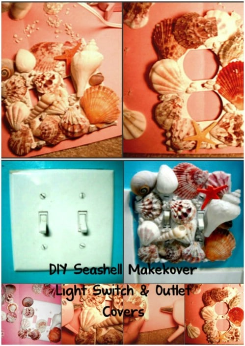 Beach Themed Light Switch Cover
