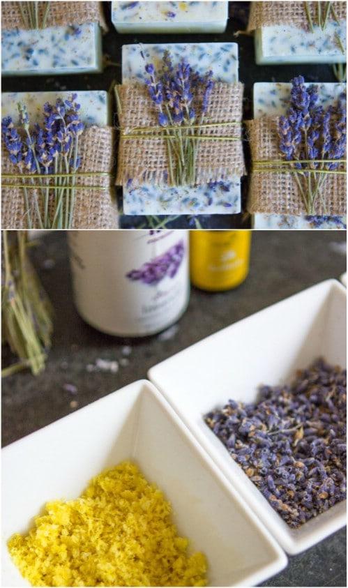 Lavender Honey Soap With Lemon