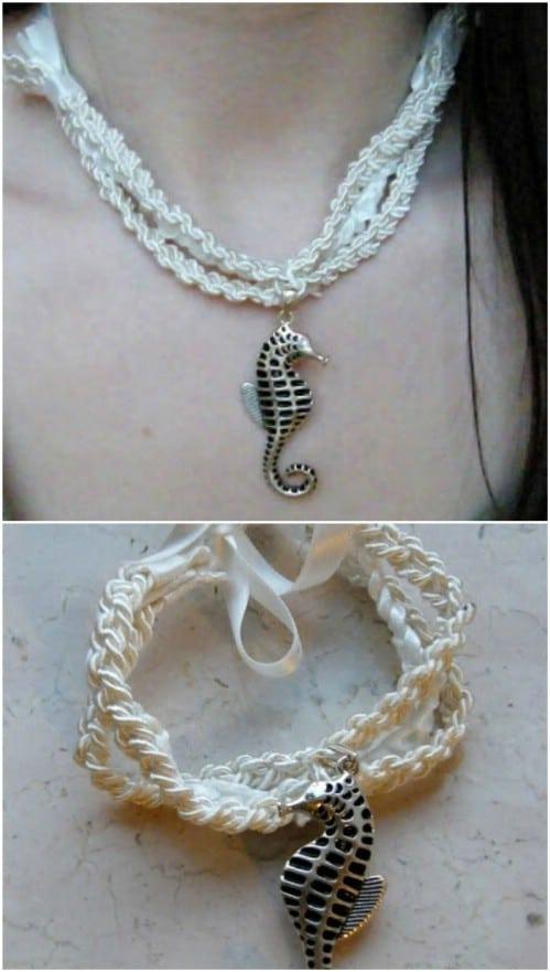 Nautical Seahorse Bracelet
