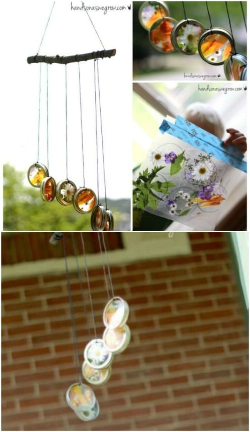 Natural Sun Catcher Wind Chimes
