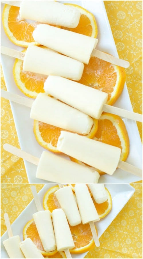 Old-Fashioned Orange Creamsicles
