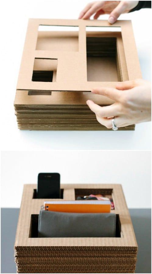 Easy Cardboard Box Crafts
