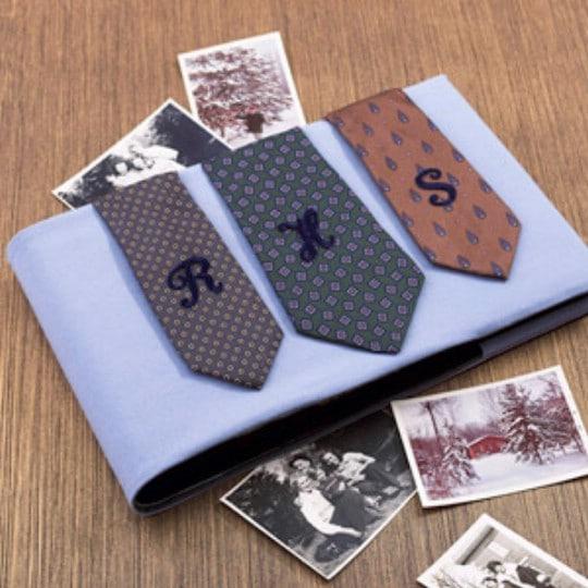 Decorative Necktie Photo Album