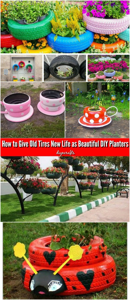 Whimsical DIY Tire Teacup