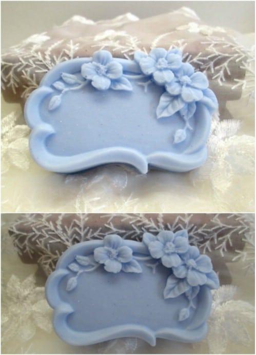 Floral Frame Buttermilk Soap