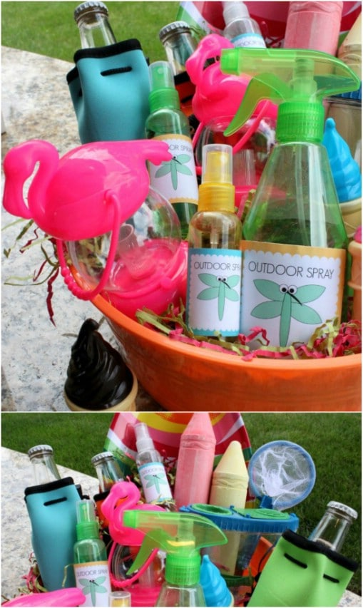 Summer Party Gift Basket