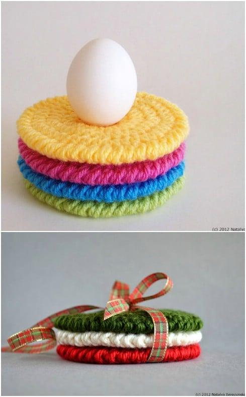 Super Easy Crochet Coasters