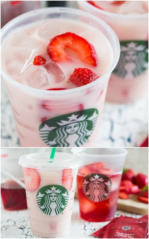 Starbucks Famous Pink Drink DIY