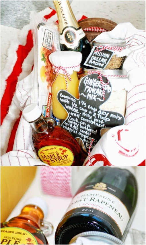 Pancake Breakfast Gift Basket