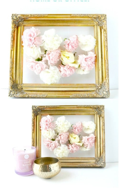 DIY Summer Floral Art