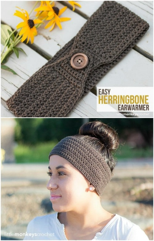 32 Easy And Stylish Knit And Crochet Headband Patterns Diy Crafts