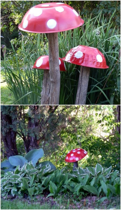 Adorable DIY Toadstools