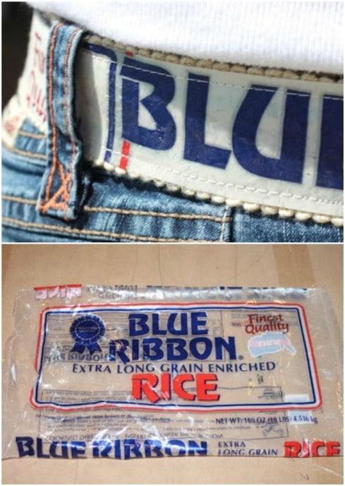 Fused Grocery Store Plastic Belt