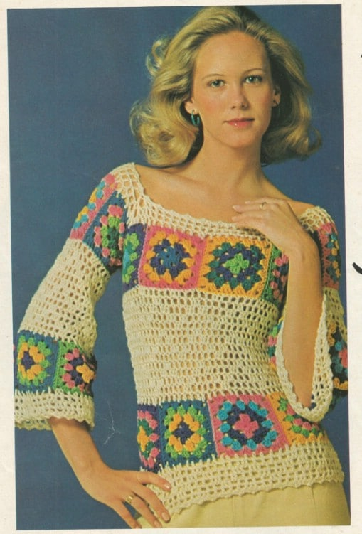 79c8b99610e 30 Beautiful Women's Sweaters And Tops You Can Knit Or Crochet ...