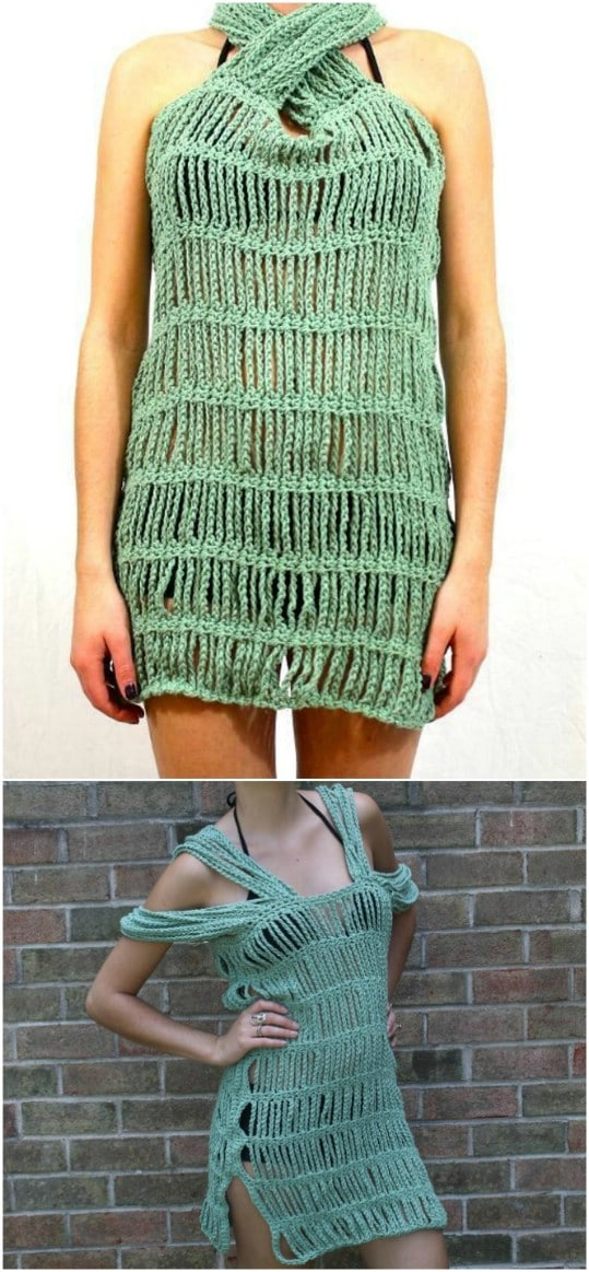 Easy Ursula Crochet Cover Up