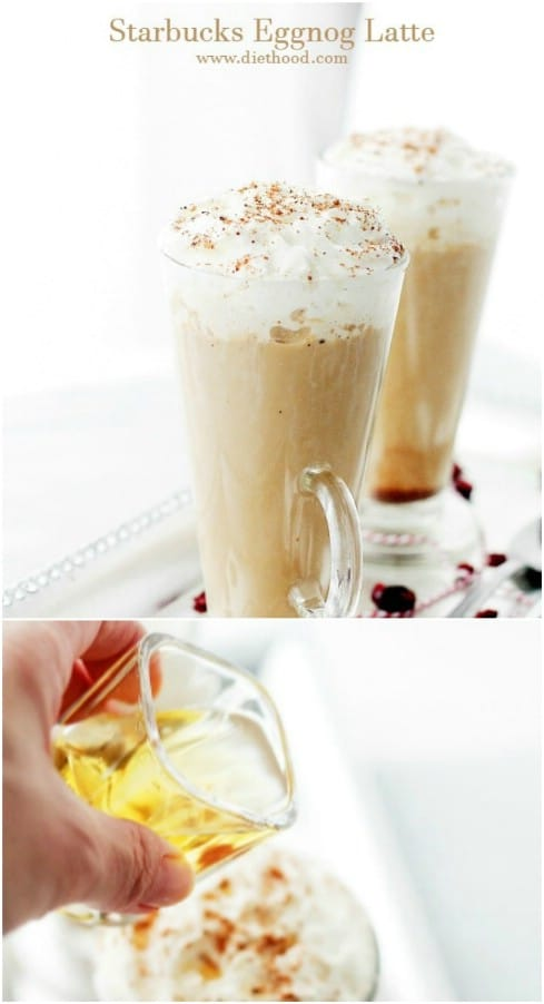 Yummy Starbucks Eggnog Latte Copycat Recipe