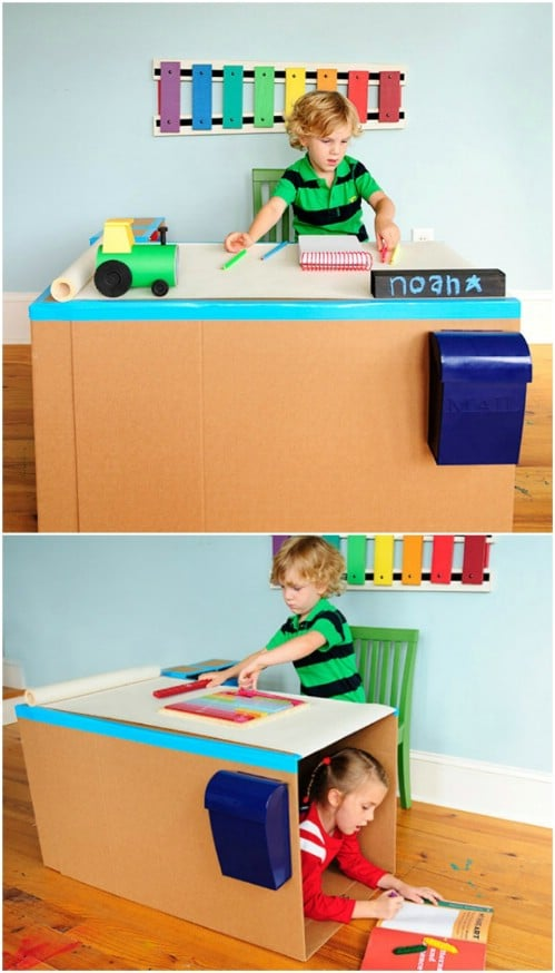 35 Brilliant Diy Repurposing Ideas For Cardboard Boxes