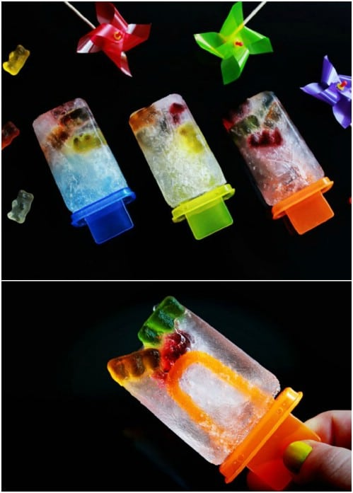 Gummy Bear And Sprite Pops