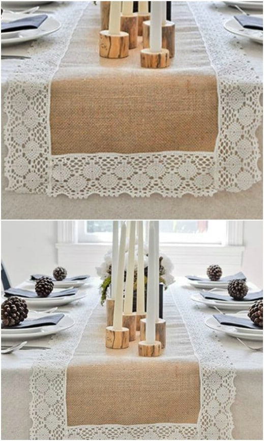 Gorgeous Reception Table Runner