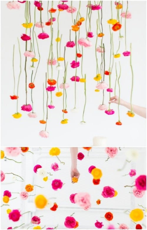 Easy Hanging Flowers