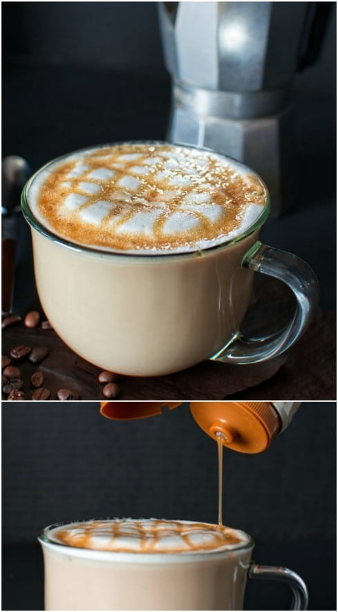 Starbucks Copycat Caramel Macchiato