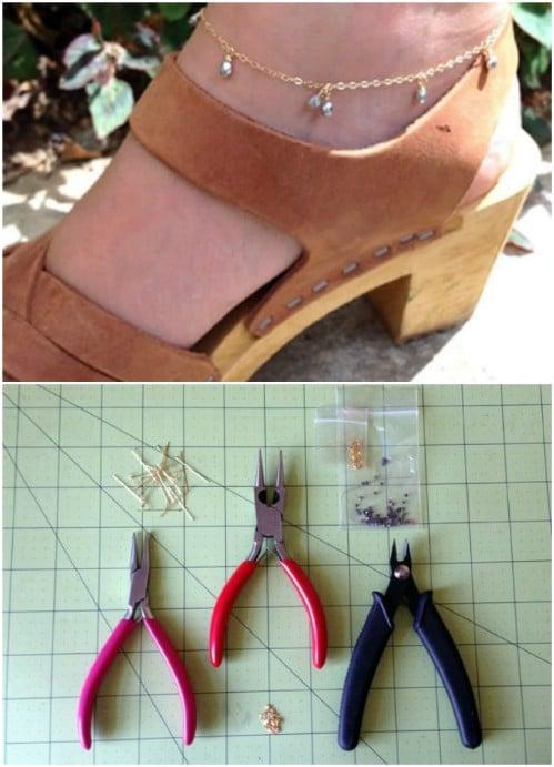 DIY Summer Anklet