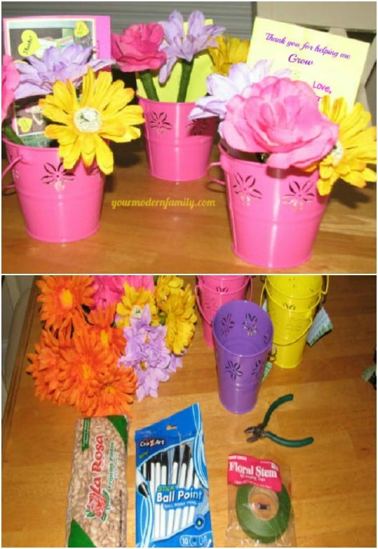 Quick And Easy Flower Pens