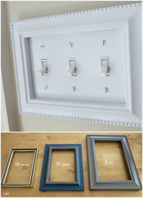 30 Fantastic And Fun Ways To Decorate Your Switch Plate Covers Diy Crafts
