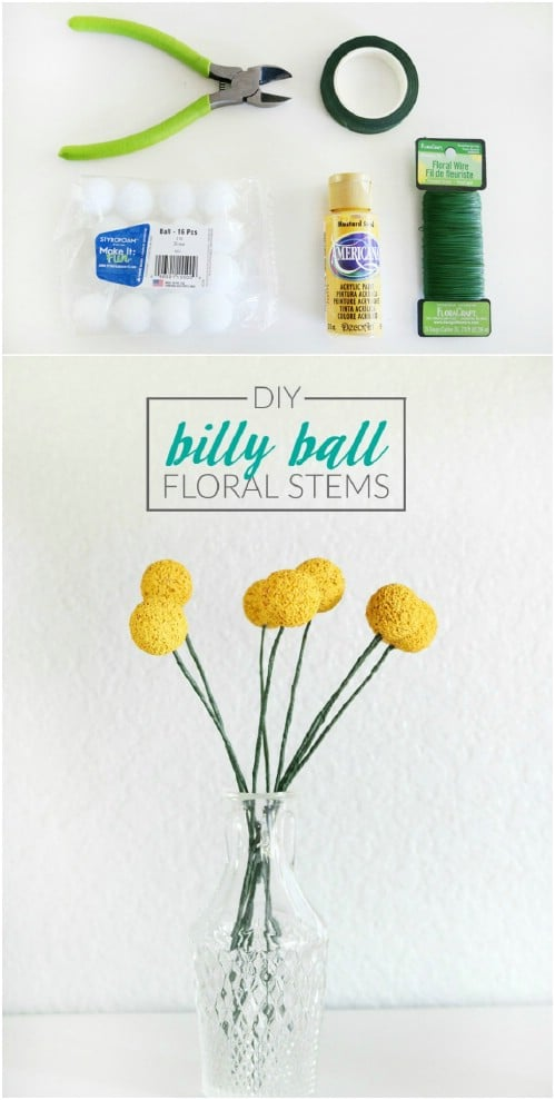 Billy Ball Floral Stems
