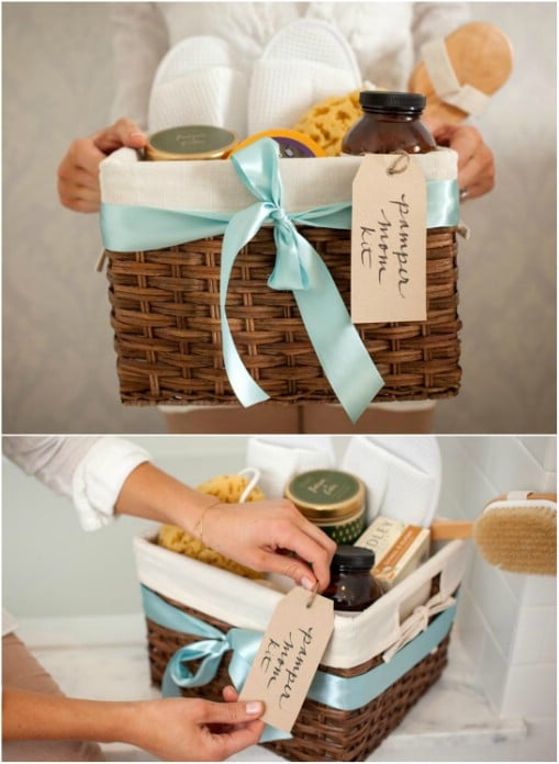 DIY Spa Basket