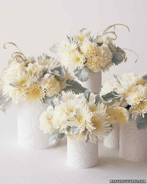 Beautiful Embossed Vases