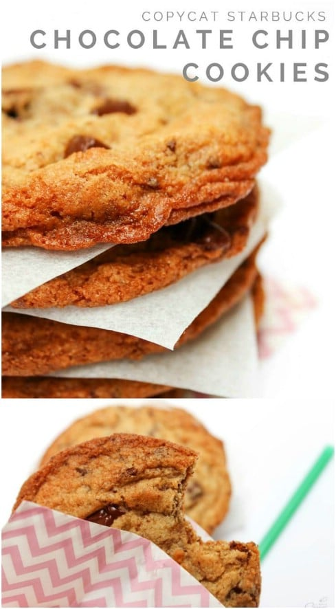 DIY Starbucks Chocolate Chip Cookies