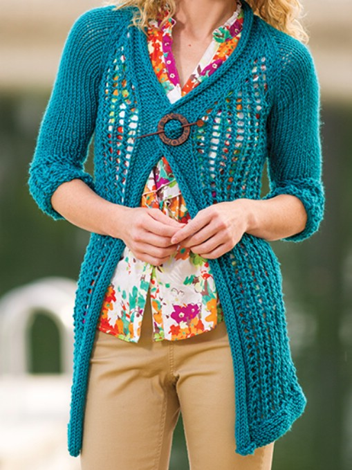 Knit Lace Cardigan