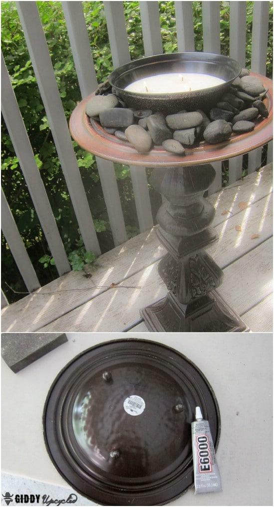 DIY Citronella Firepot