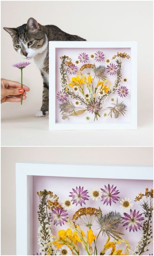 Pressed Flower Wall Art