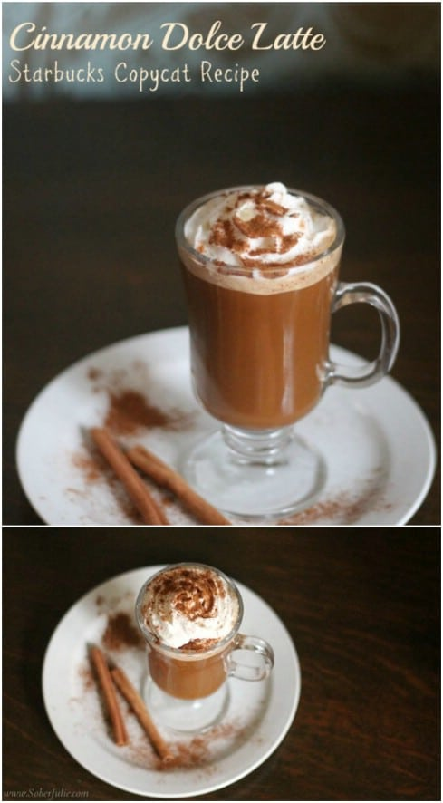 Starbucks Cinnamon Dolce Latte Copycat