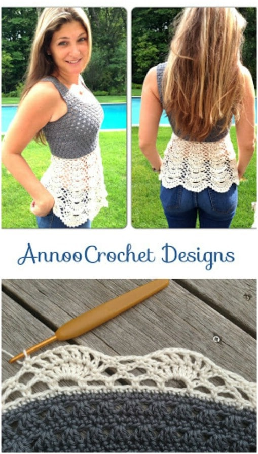 Ballerina Crochet Sweater